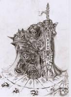 Blood death knight by DeVmarine