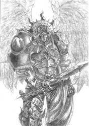 Primarch-Sanguinius by DeVmarine