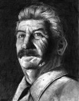 Joseph Stalin by DeVmarine