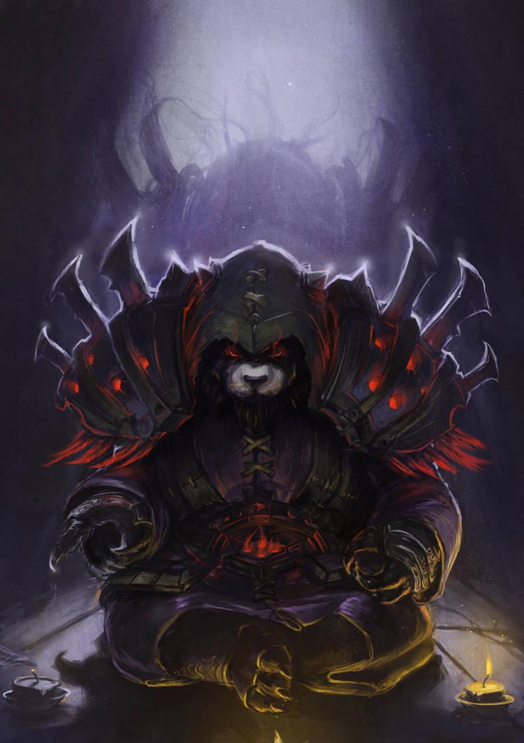 Pandaren Shadow Priest by DeVmarine