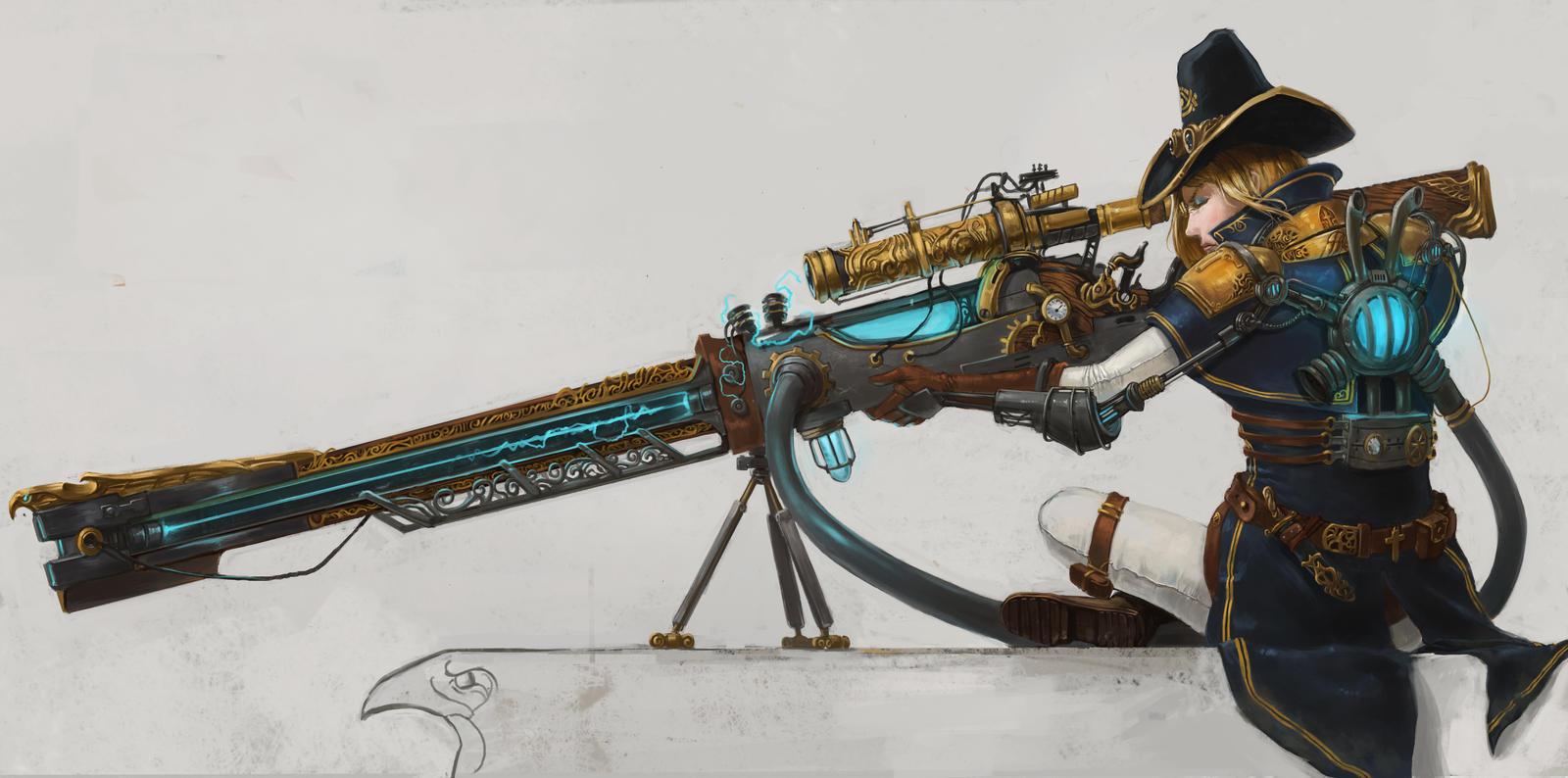 The Order 1886 contest entry: Rail gun