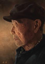 Old man by DeVmarine