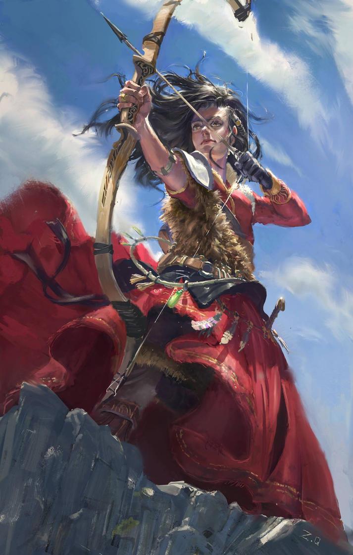The Huntress by DeVmarine