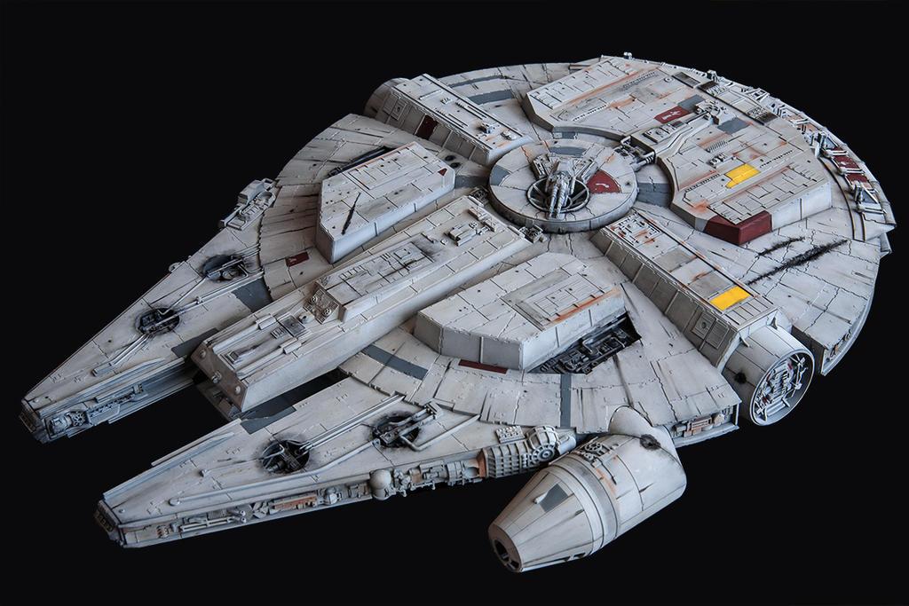 Star Wars Millenium Falcon 3 by 3d-odan