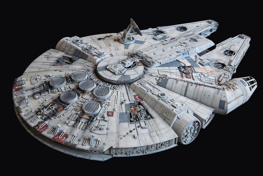 Star Wars Millenium Falcon 2 by 3d-odan