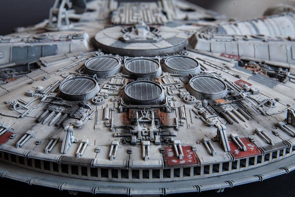 Star Wars Millenium Falcon 7 by 3d-odan