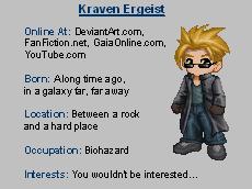 Gaia Online Avatar by KravenErgeist