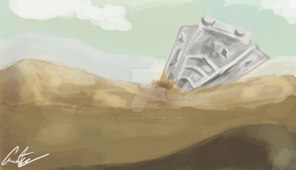 Landscape #5 Star Destroyer by Goooze