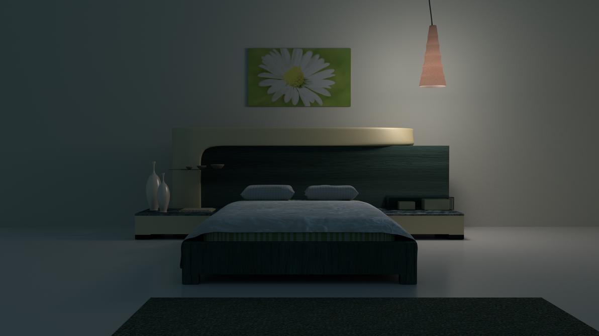 Bedroom night by aad345 on deviantart for Bedroom night