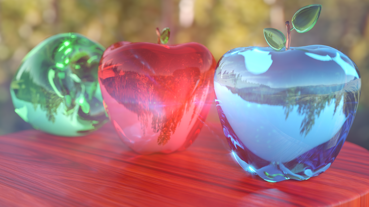 Glass Apples by aad345