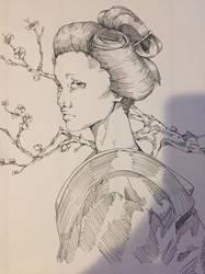 Random Geisha Lady by DeadKirai