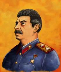 Stalin by merbel
