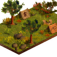 Isometric Game Assets - 2007 by merbel