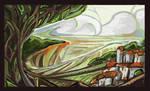 Landscape Sketch - 2010
