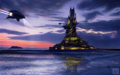 Remote Citadel by merbel