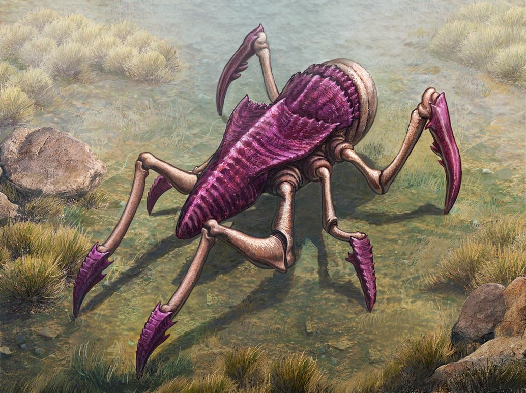 Refined Creature Concept by merbel