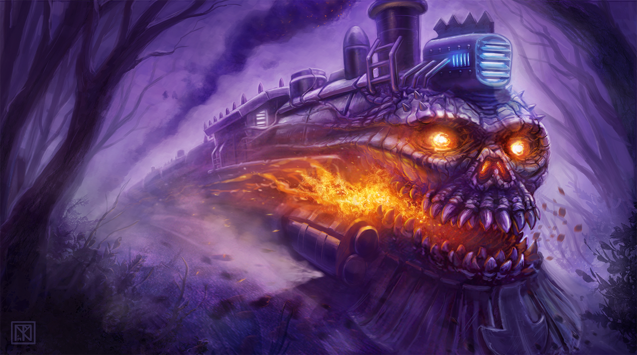 Train of Death by merbel
