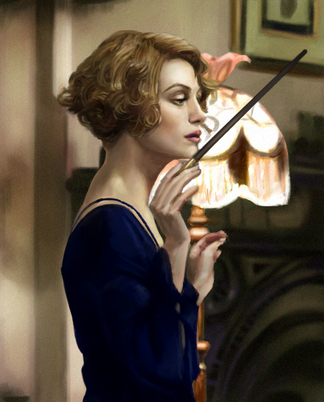 Study from 'Fantastic Beasts' by merbel