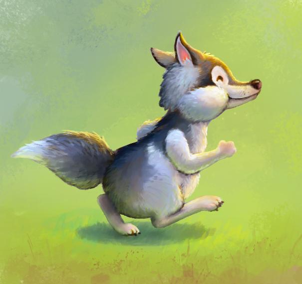 Husky by merbel