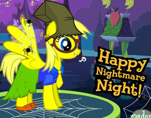 Puzzle Peace's Nightmare Night Costume by MonstrousPegasister