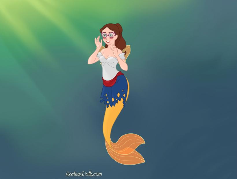 Mermaid-Scene by MonstrousPegasister