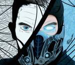 Sub-Zero: Mister Below Zero ( Mortal Kombat ) by SuuSlimeGirl