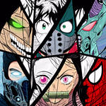 Anime Heroes ( Deku, Nezuko, Guyver and other ) by SuuSlimeGirl