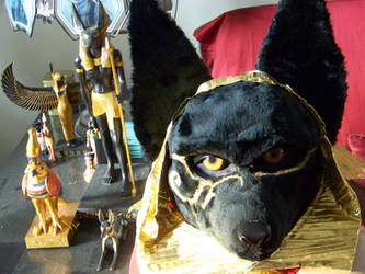 Anubis mask by DavenNashi