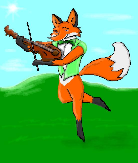Fiddle Fox (Full) by Cajek