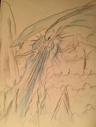 Majestic Death by Cajek