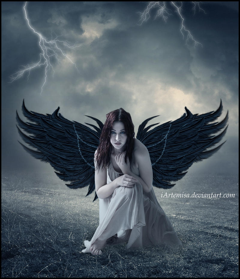 Angel caido by iArtemisa