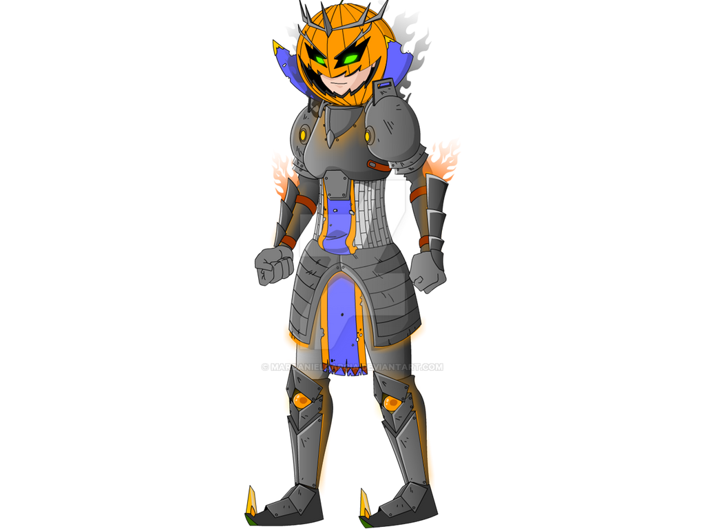 armor halloween theme female by mardanielgarcia