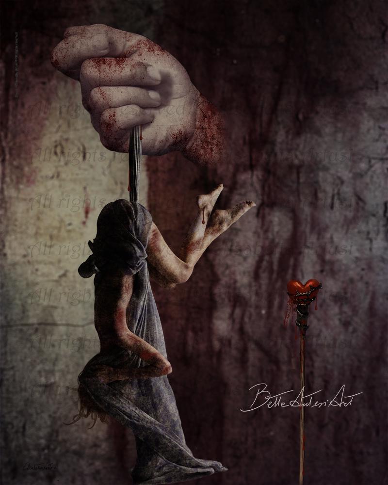 Bleed by BettaArtusiArt
