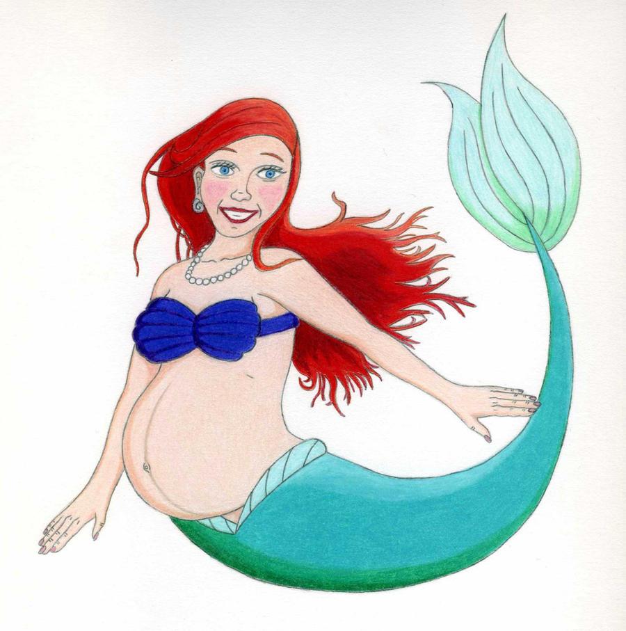 Ariel-Pregnant by RudiciusCaesar