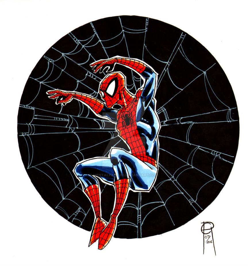 Spider-Man  Commission 7/24 by MentalPablum
