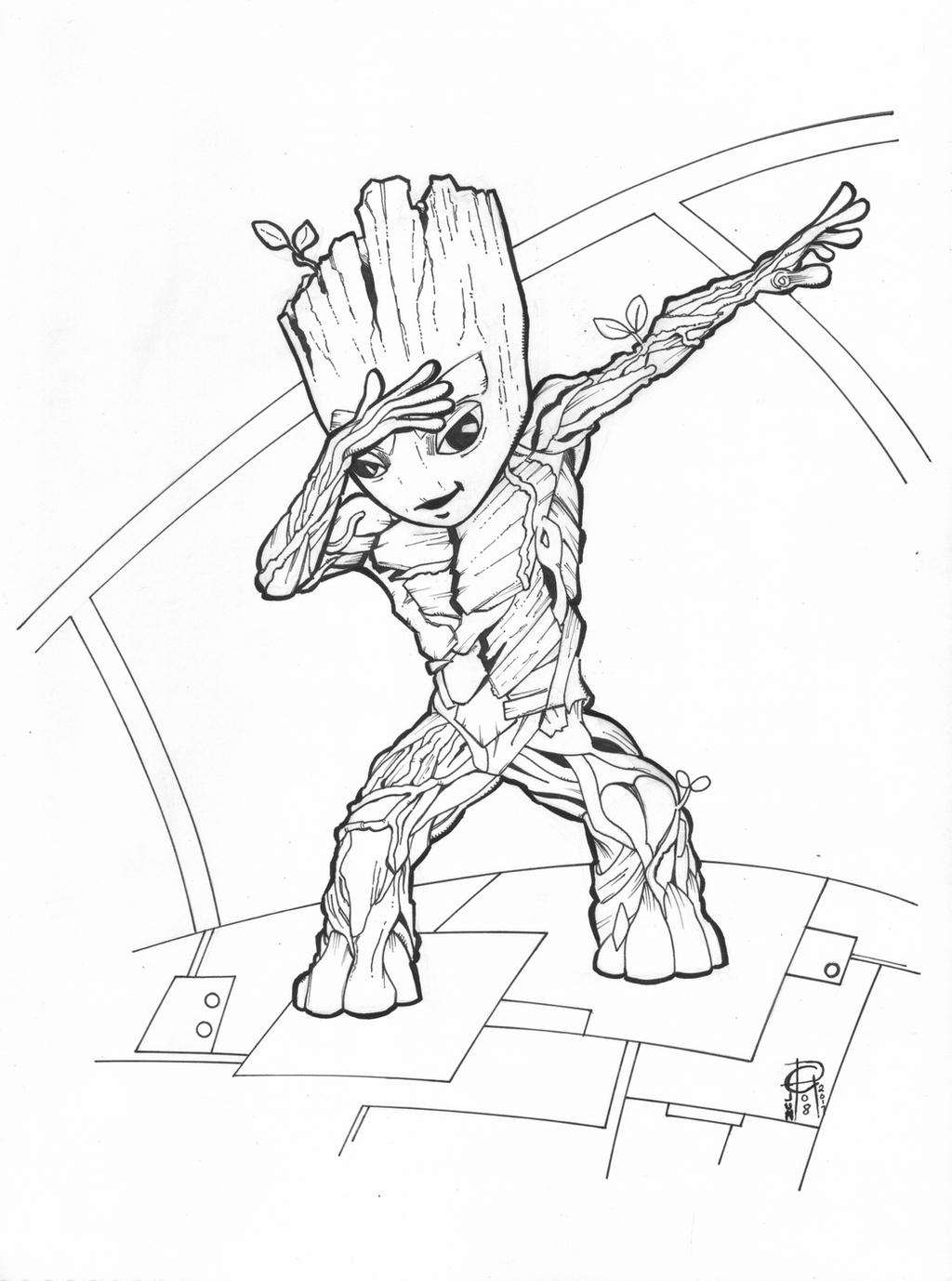 Baby Groot GotGvol2 by MentalPablum on DeviantArt