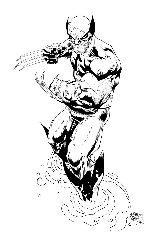 Wolverine by Roger Cruz by MentalPablum