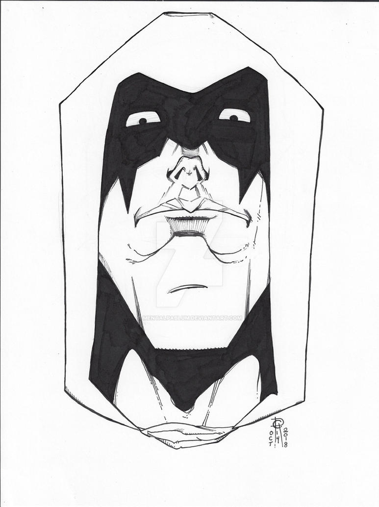 Zartan #Inktober Day Fourteen by MentalPablum