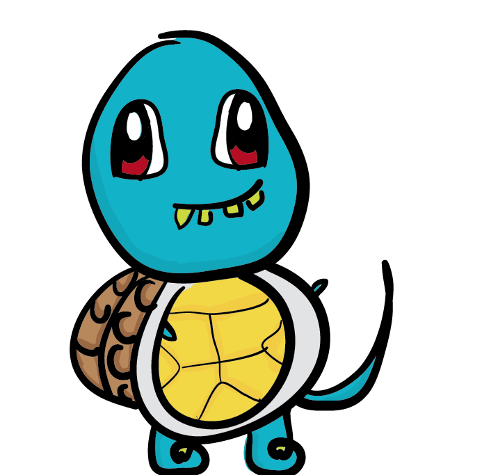 Squirtle i derp you by ookamihybrid on deviantart - Derpy squirtle ...