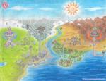 PM2D- Mushroom Kingdom (Luigi's World Map)