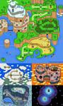 SMW- Overworld Design Contest Map by Platypusofdoom