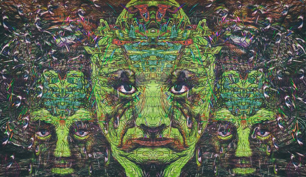 Green people by komota-alot