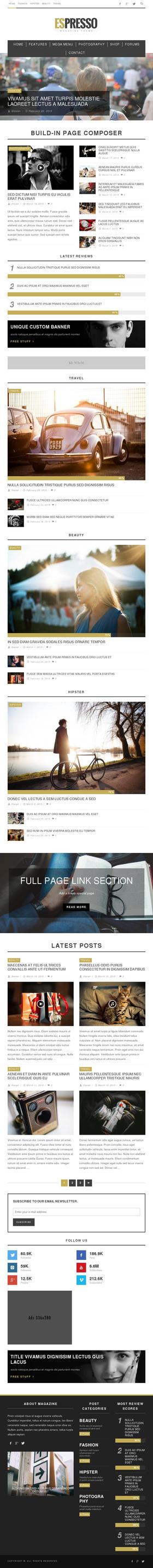 ESPRESSO - Magazine / Newspaper WordPress Theme by AllResourcess