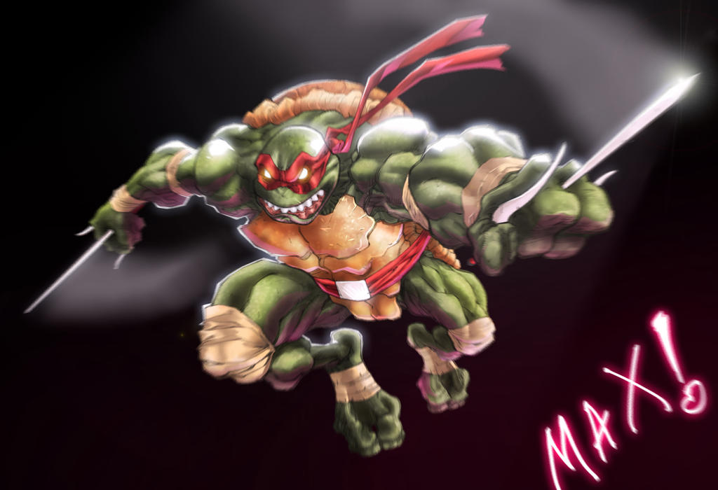 Tmnt   Raphael By Mikebowden-d5j2z8n (1) by maxspectre