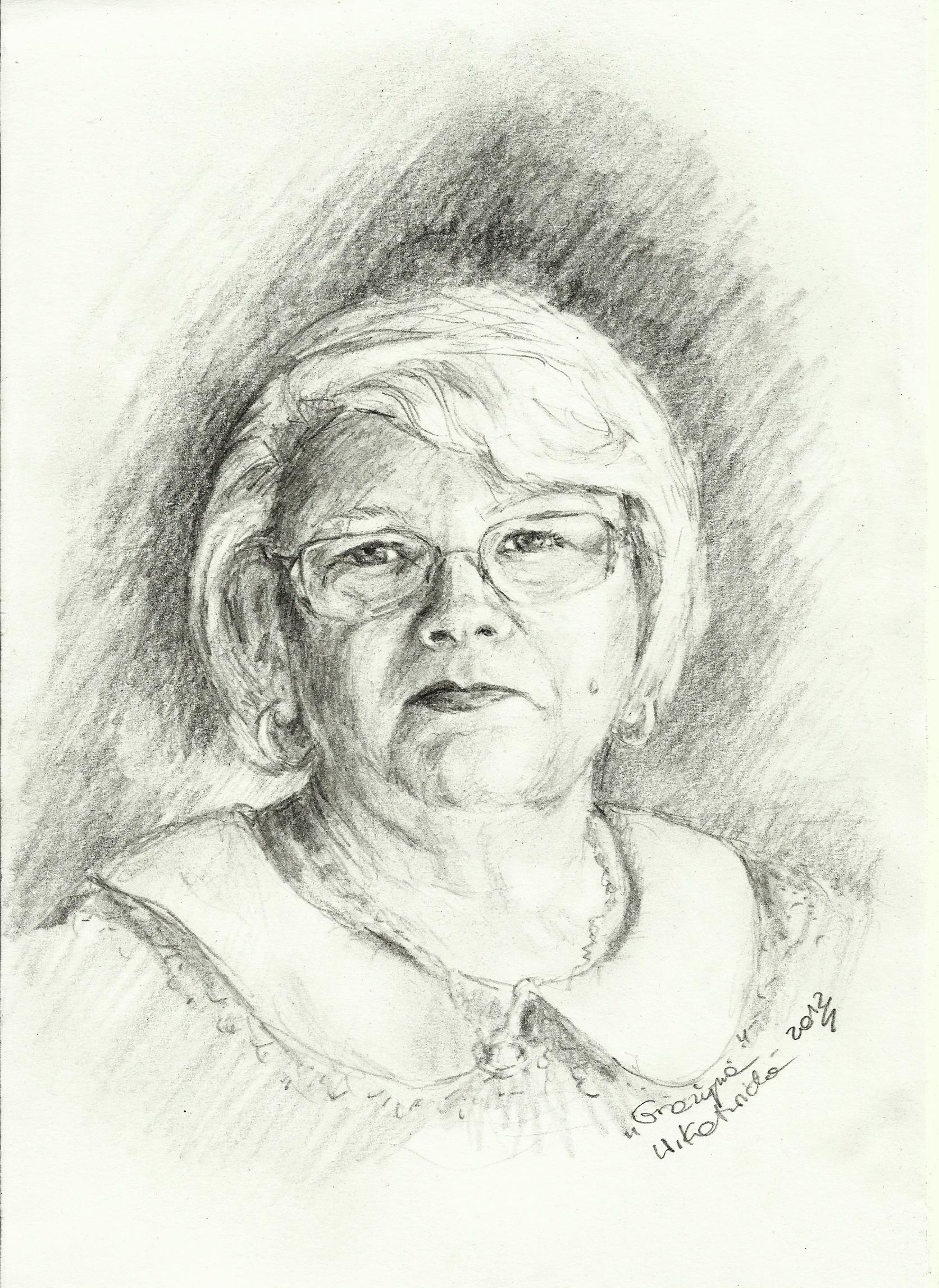 My Mom by Kotwinka