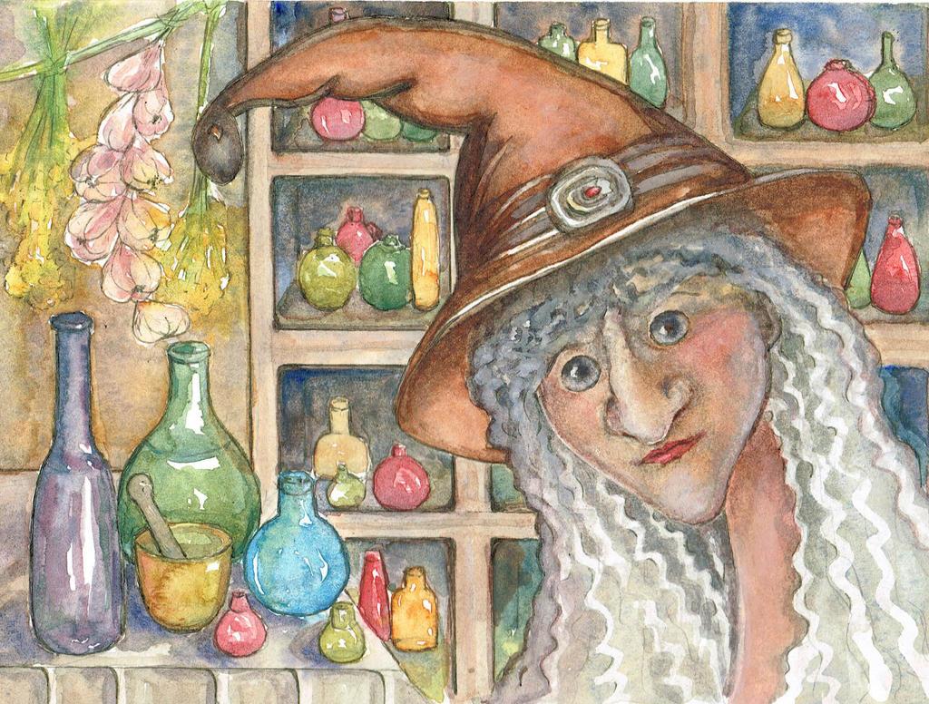 Witch by Kotwinka