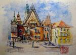 Stary Rynek Wroclaw Poland by Kotwinka