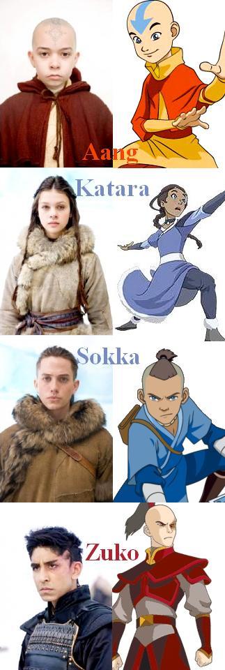 New Avatar Movie Cast By Roguearcher18 On Deviantart