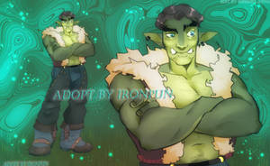 [ADOPT | OPEN] ORC adopt [world of warcraft] by Ironpun