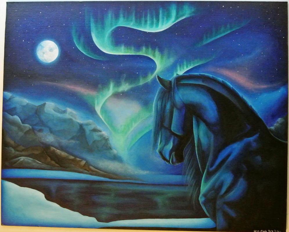 Northern Night by Starkku